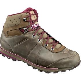 Mammut W's Chamuera Mid WP Shoes dark flint-merlot